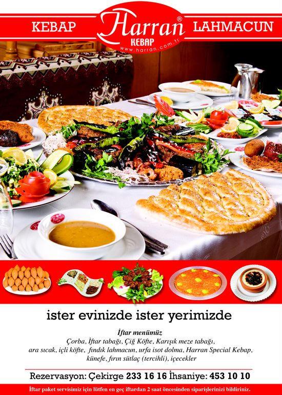 Harran Kebap Ihsaniye Iftar Menü Bursa Restaurants