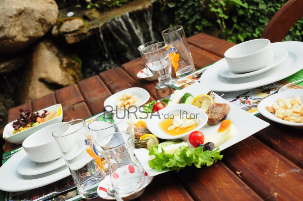 Derebahçe Bursadan Lezzetli Iftar Menüsü Bursa Restaurants