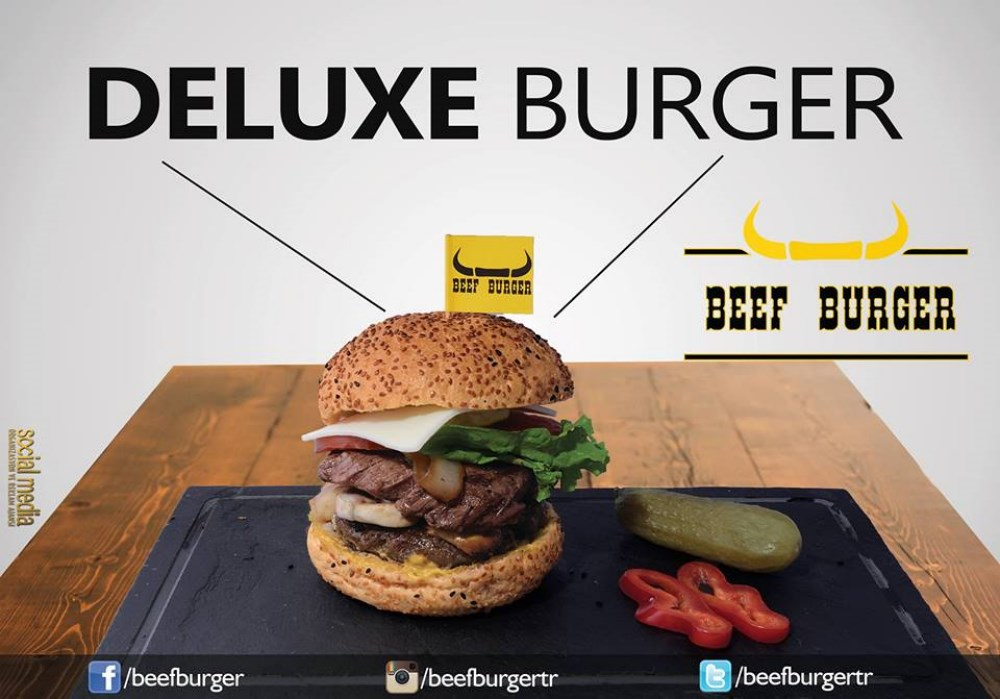Beef Burger Eker Meydan Ftar Men S