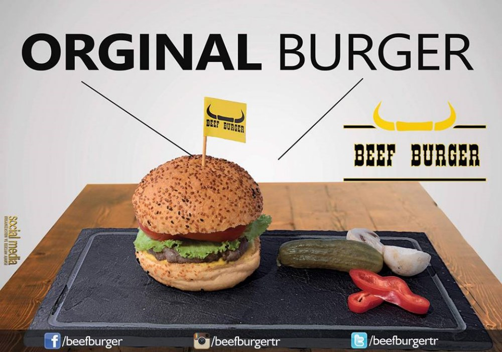 Beef Burger K K Rtl Bursa Restaurants